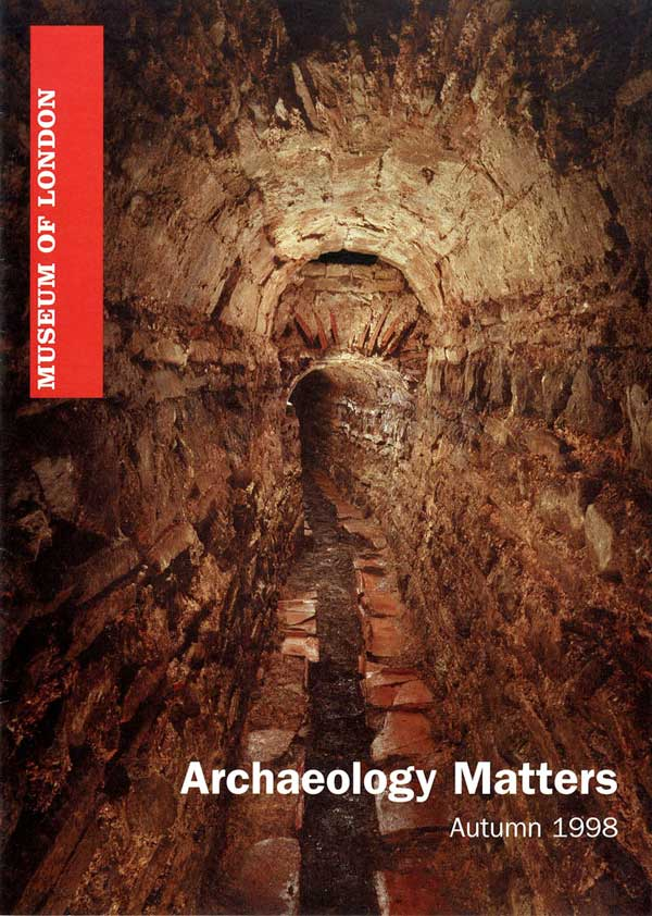 Archaeology Matters No 1 Front Page