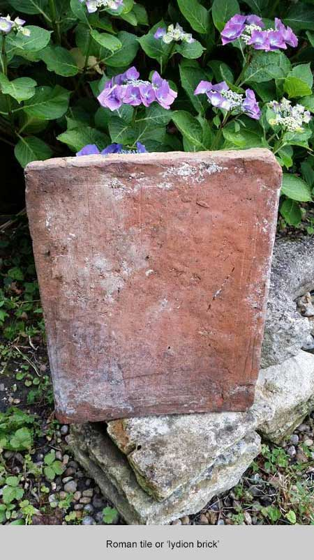 Photo of Ian's Roman tile