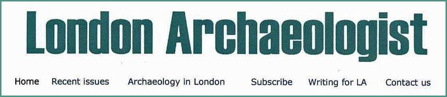 Link to London Archaeologist