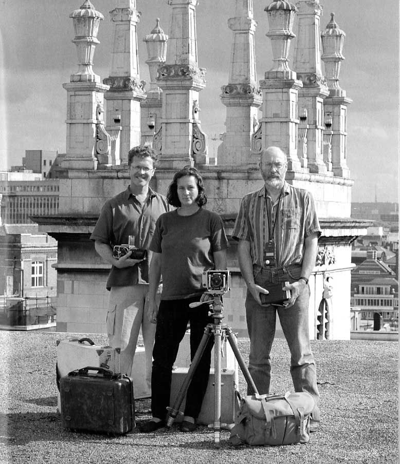 Andy Chopping, Maggie Cox and Edwin Baker waiting for the MOLA helicopter to arrive in 1998 (they're still waiting!)