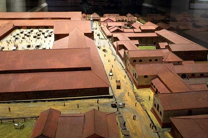 Forum model from the west