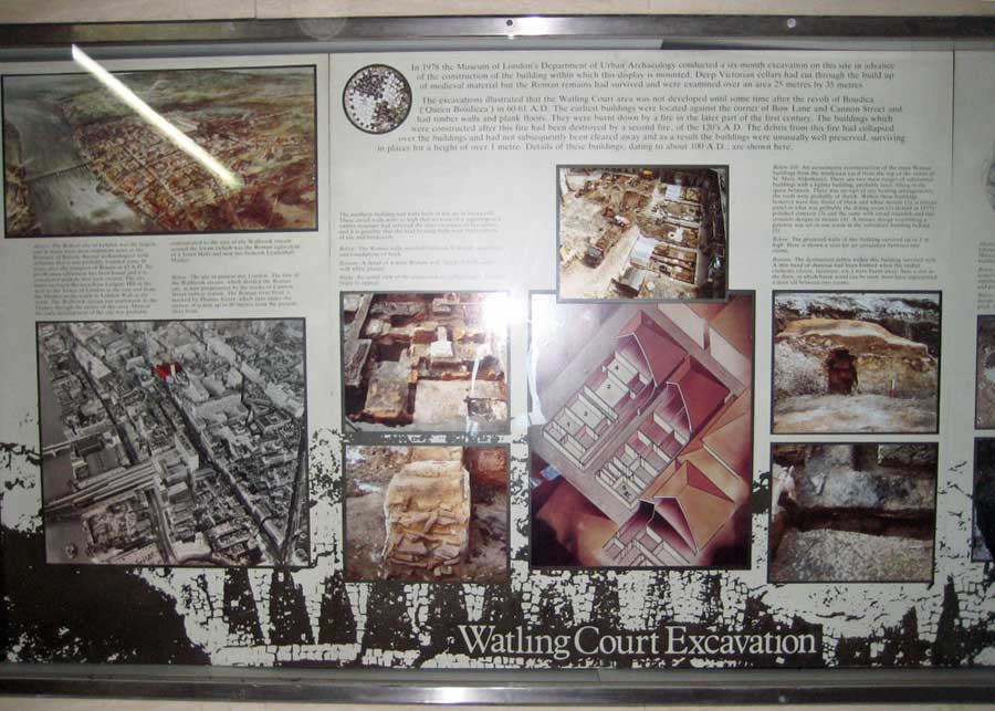 Watling Court exhibit